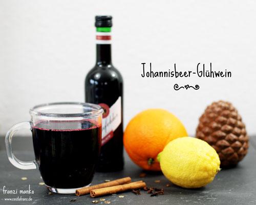 Zutaten Johannisbeer-Glühwein