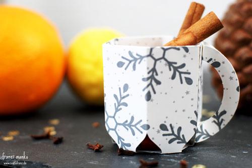 Glühwein Tasse aus Papier