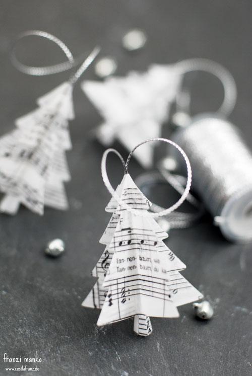 Tannenbaum aus Weihnachtslieder Noten