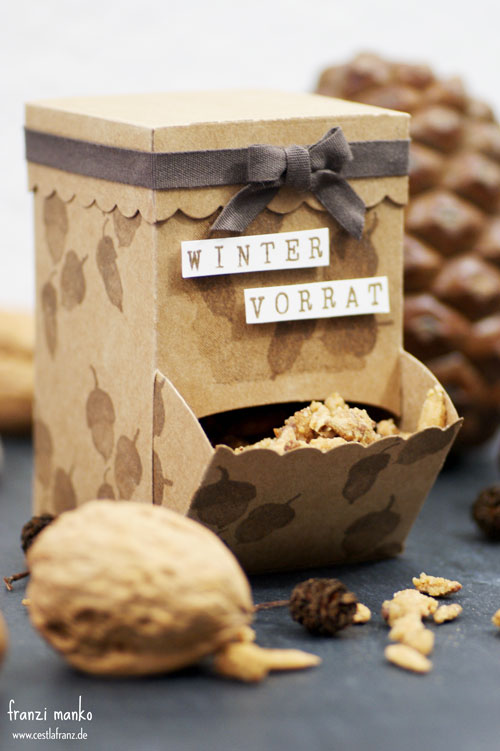 Wintervorrat Candy Spender