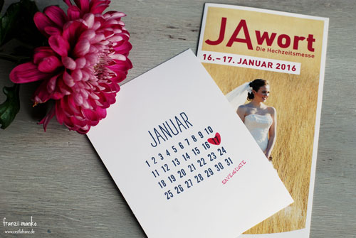 Save the Date: Hochzeitsmesse Dresden