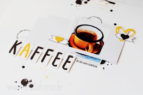 Wortspielereien Layout Kaffee - Foto