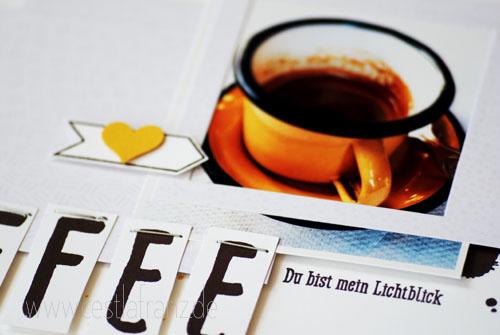 Wortspielereien Layout Kaffee - Details