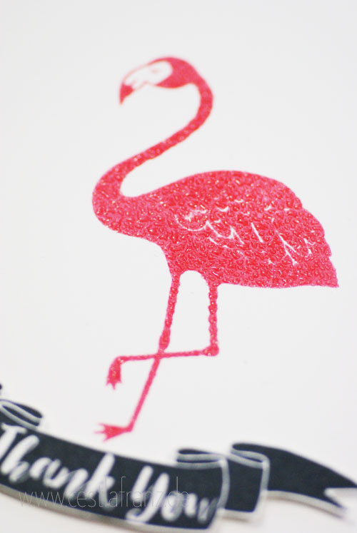 Stampin' Up! Pop of Paradise Flamingo