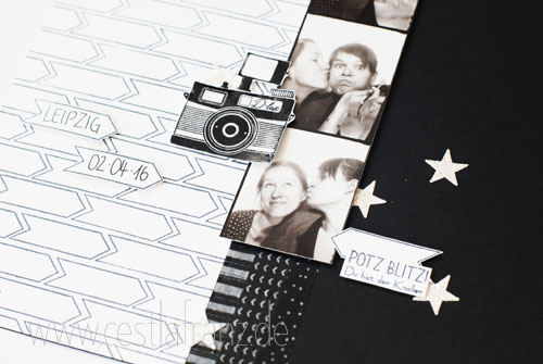 Stampin Up Wortspielereien Layout